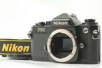 「N MINT Honeycomb Shutter」Nikon FE2 35mm Black Body SLR Film Camera from JAPAN#