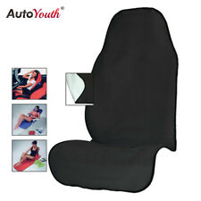 Towel Car Seat Cover Athletes Fitness Gym Running Beach Swimming Black 1PCS