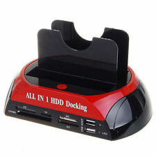 "DOCKING STATION ALL IN 1 Per HARD DISK SATA IDE 3,5"" 2,5 LETTORE HDD BOX CASE"