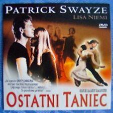One Last Dance DVD, Patrick Swayze, Lisa Niemi, REGION 2 UK