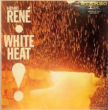 HENRI RENÉ & ORCH. WHITE HEAT LP 1959 STEREO EXCELLENT COND VINYL!