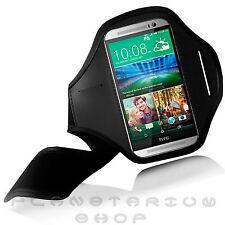 CINTA DE BRAZO AJUSTABLE PARA HTC ONE M8 CORRER HACER DEPORTE DE ALTA CALIDAD