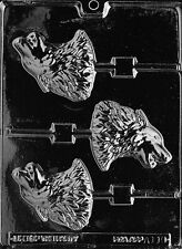 Wolf Lolly Pop Chocolate Candy Soap mold wolves coyote alaska alaskan wildlife