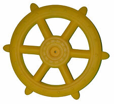 Pirate Ship Wheel YELLOW NEW 48cm playground equipment cubby accessories toys