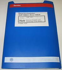 Werkstatthandbuch VW Golf 4 IV Typ 1J / Bora 4 Zylinder Motor Einspritz Anlage