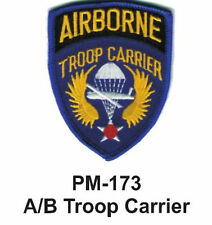 "3"" A/B TROOP CARRIER Embroidered Military Patch"