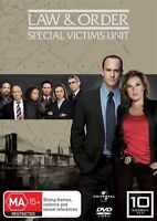 Law And Order SVU - Special Victims Unit : Season 10 DVD : NEW