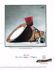 PUBLICITE ADVERTISING  1995   HERMES  art de la table service ATTELAGE
