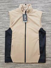 RALPH LAUREN RLX Golf/Sports Gillet Body Warmer Beige/Black Small RRP £145