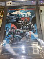 Detective Comics Futures End 1 cgc 9.8 3-D Lenticular cover MINT Batman Riddler