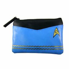 Star Trek The Original Series Blue Uniform Coin Purse by the Coop. New w/tags