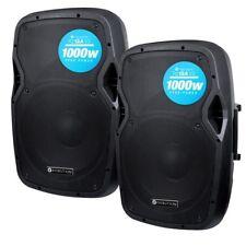 Kam Rz12a V3 2000w Active DJ PA club 30.5cm altavoz Estéreo paquete con
