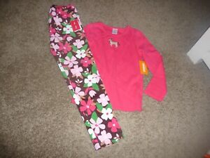 NEW NWT Gymboree girls size 6 beautiful Pony Club cord floral pants/horse shirt