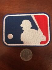 Major League Baseball Embroidered Iron On Logo Patch   MLB LOGO