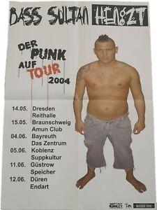 Bass Sultan Hengzt - Der Punk auf Tour 2004 Poster DIN A1 (Amstaff Muzx)