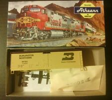 Athearn Train Burlington Northern Ho Scale #5220 40' Reefer Wood