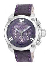 New Mens Invicta 22163 Corduba Chronograph Leather Strap Watch
