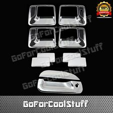 For Ford 99-07 F-250/350 Super Duty Chrome 4Dr Handle W/O Pskh+Tg Cover W/Kh