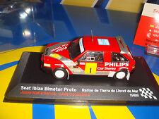 Coche De Metal SEAT IBIZA Escala BIMOTOR PROMO 1988 nuevo