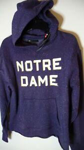 New Under Armour Notre Dame Fighting Irish women's size medium hoodie sweatshirt