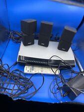 Bose Lifestyle AV28 DVD/CD Media Center, Remote Control AV-28, With Speaker Set.