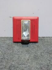 Used Edwards Signal 2452THS-110-R Fire Alarm Temporal Horn/Strobe