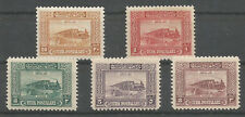 1926 TURKEY  POSTAGE DUE STAMPS COMPLETE SET TRAIN LOCOMOTIVE RAILROAD MNH **