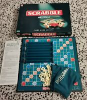 Scrabble Original Family Board Game by Mattel 2003 Complete