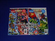 1 HTF 1996 Marvel Vs DC #2 & #3 First Print News Stand Edition Set DC Vs Marvel