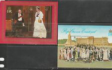 EQUITORIAL GUINEA 1978 CORONATION MINIATURE SHEETS x3, MNH