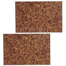 2 Guitar Bass Pickguard Material Blank Scratch Plate 3ply Cinnamon Pearl 43X29cm