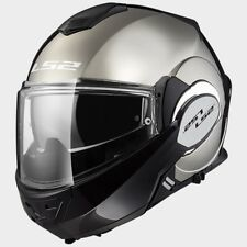 CASCO LS2 ff399 Valiant Cromo Solid Color: Cromo TALLA S (55)