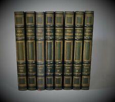 Oeuvres Complètes de PAUL VERLAINE illustrées par BERTHOLD MAHN 1931 Reliure 8/8