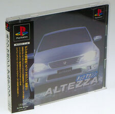 NETZ MAGAZINE ALTEZZA PS1 Sony Japan Import PlayStation PSX Complete NotForSale!