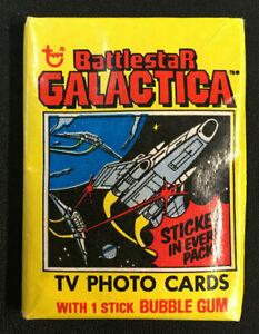 BATTLESTAR GALACTICA SEALED CARD PACK