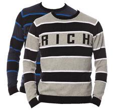Maglia sweater Jhon Richmond DEGAS maglioncino girocollo long sleeves maniche lu