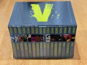 VASCO ROSSI - RARO COFANETTO BOX 7 CD + 7 DVD + 2 LIBRI