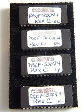 1990 DYNAPERT EPROMS DSOF - 500 REV C ~ 4 PIECES ~ BOXED