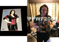 WWE NIA JAX HAND SIGNED AUTOGRAPHED 8X10 PHOTO WITH PICTURE PROOF AND COA 3