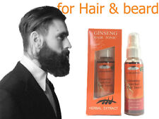 NATURAL FACIAL HAIR GROWTH TREATMENT SERUM FAST GROW MUSTACHE BEARD EYEBROWS