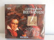 CD ALBUM Coffret 6XCD BEETHOVEN Piano sonata 1 4 Symphony 1 4 8 9 MOM602
