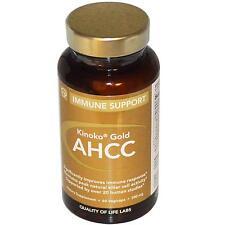 Kinoko oro AHCC apoyo inmune - 60 - 500mg cápsulas vegetarianas por laboratorios de calidad de vida