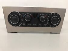 Mercedes-Benz C209 CLK 320cdi 2008 Air-con Control Panel Climate A/C Switch OEM