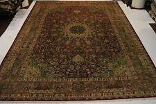 Übermaß Alte Täbrizi fein Perser Teppich Orientteppich 5,96 X 4,07