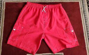 Swimsuit short pants Men's summer swimming beach trunks shorts 5 pockets