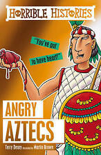 HORRIBLE HISTORIES: ANGRY AZTECS  by Terry Deary  NEW