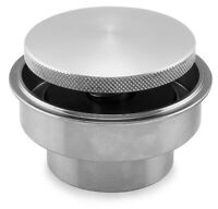 Flush Mount Pop Up Aluminum Paintable Gas Cap w/ Steel Weld in Bung Custom