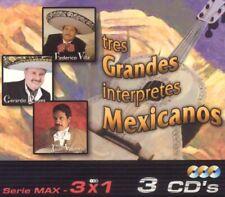 Federico Villa, Gerardo Reyes, Juan tres grandes conduzca mexicanos 3CD Boxset