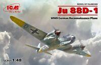 ICM 48240 - 1:48 scale - Ju 88D-1 WWII German Reconnaissance Plane Plastic model