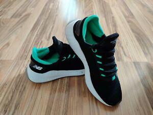 New Balance Fresh Foam Lazr v2 Hypoknit Men's Shoes Black Green Size 10.5